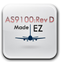 AS9100 Rev D Made EZ